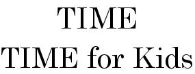TIME USA, LLC.
